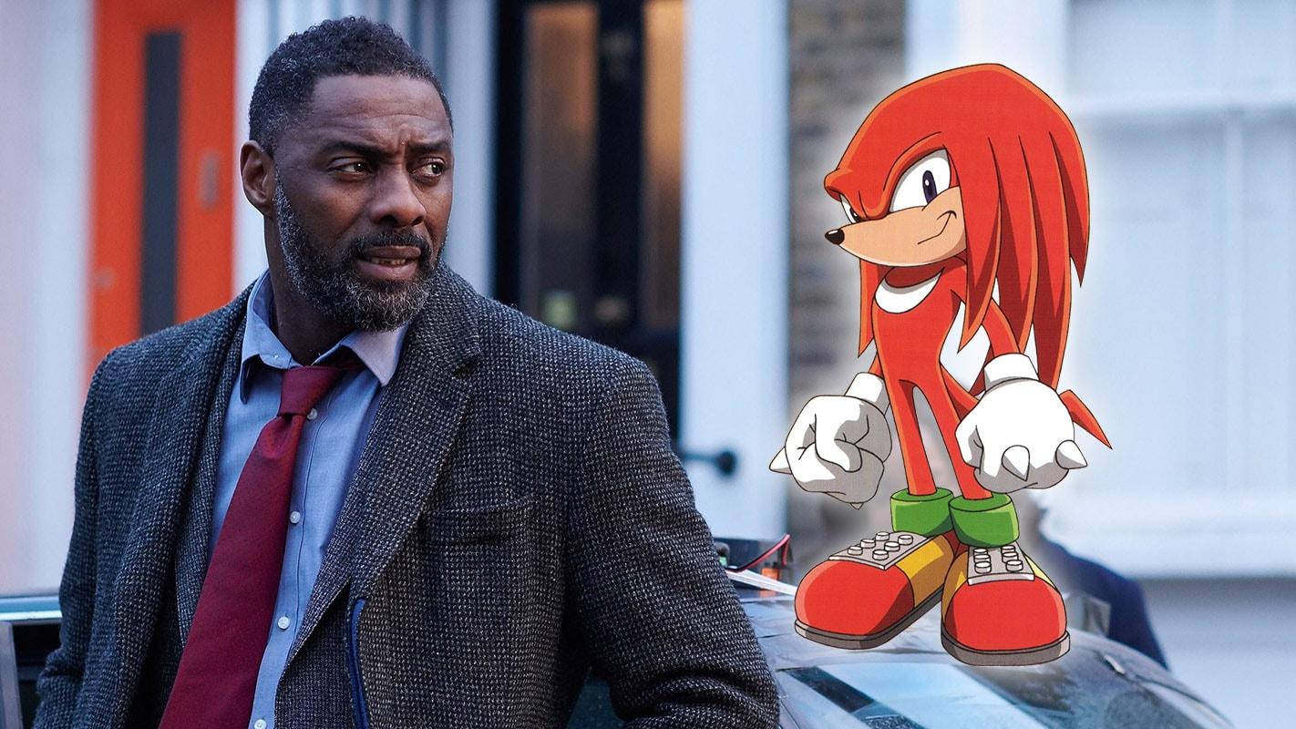 Idris Elba Cast as Knuckles in Sonic the Hedgehog 20, Movie Due ...