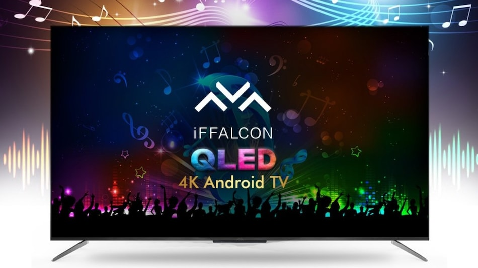 iFFalcon H71 4K QLED, K71 4K UHD Smart TVs With Android TV Launched in India