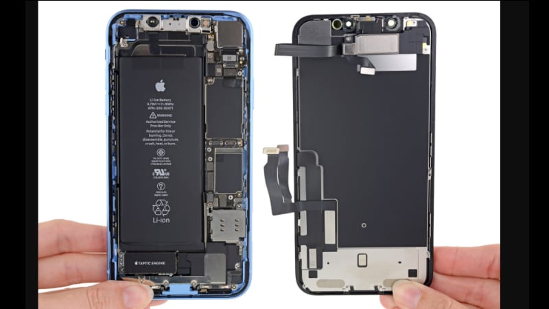 online store 579cd b1270 iPhone XR Teardown Reveals Easy Battery, Display Repair: iFixit ...
