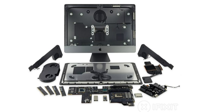 iMac Pro iFixit Teardown Provides a Closer Look at the Massive Dual Fan Cooler and More