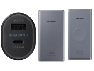 Samsung Unveils 45W Car Charger, Two 25W Power Banks; No Word on a Release Date