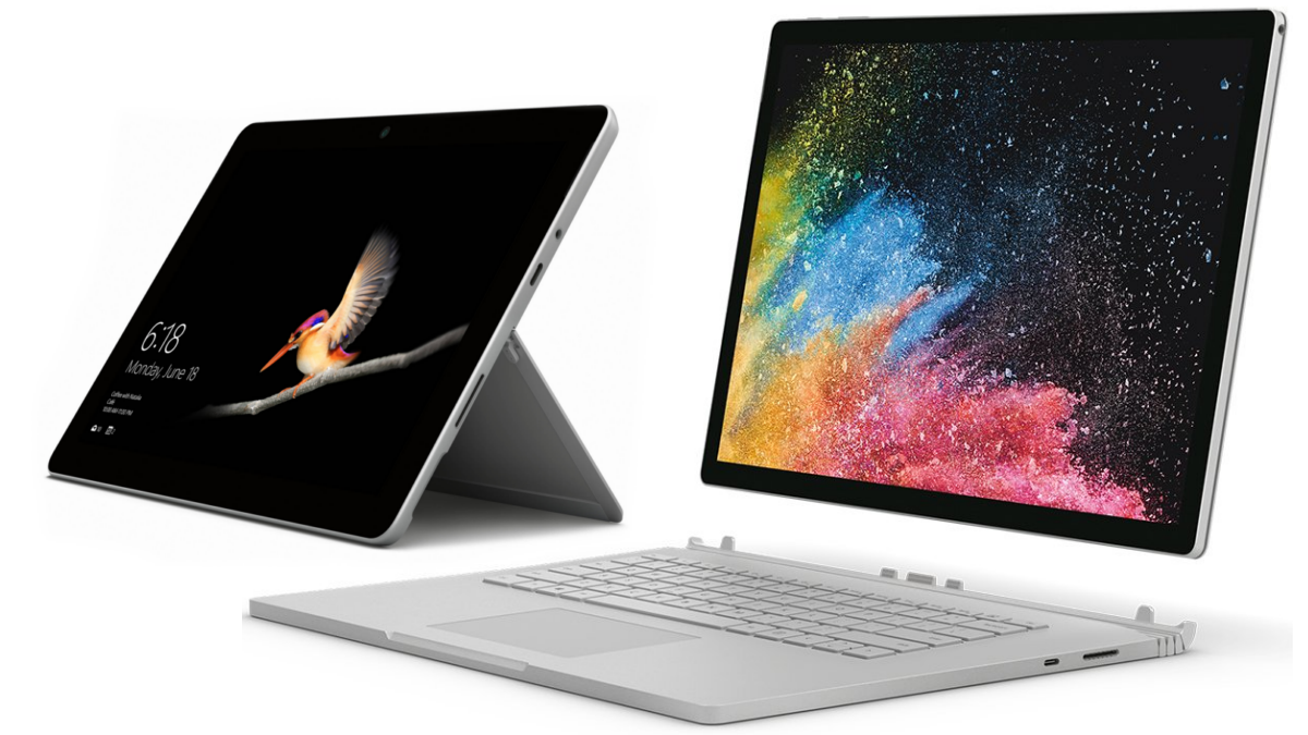 Microsoft Surface Go 2, Surface Book 3 Price and Specifications Tipped