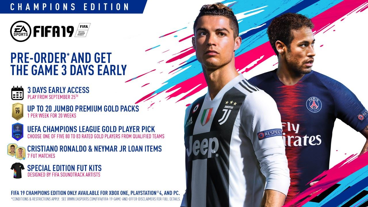 FIFA 19 Ratings, Release Date, System Requirements, Pre