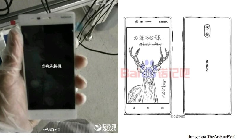 Nokia Android Phones Leaked in Images, Concept Sketches Ahead of Launch