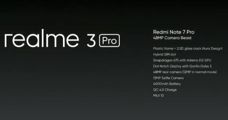 Realme 3 Pro अप्रैल में होगा भारत में लॉन्च, Redmi Note 7 Pro को देगा चुनौती