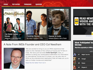 IMDb Launches India-Specific Website for Fans