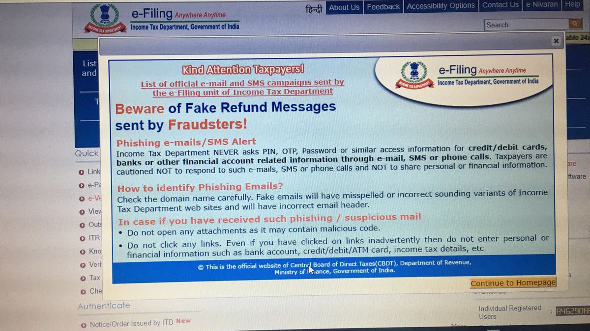 Malware Found Hiding in Fake Income Tax Department Emails, CERT-in Warns
