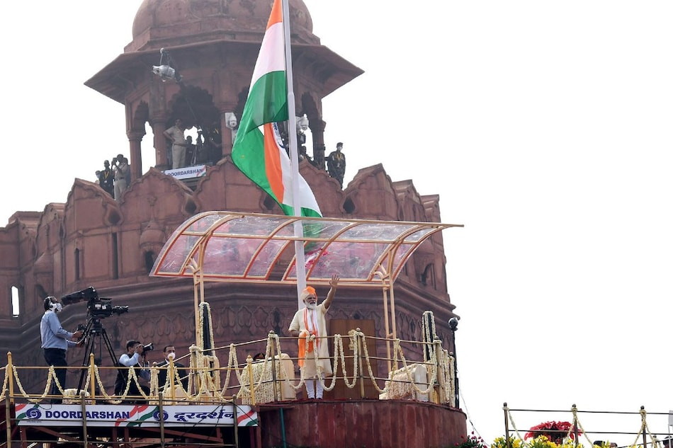 Independence Day 2021: How to Watch Prime Minister Narendra Modi's Speech Live on TV, Phone, PC
