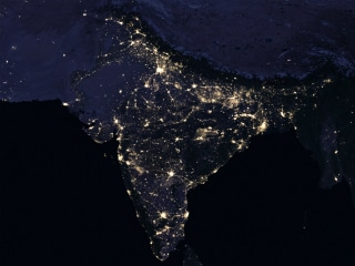 India Illuminated at Night, as Seen from Space, in Beautiful New NASA Images