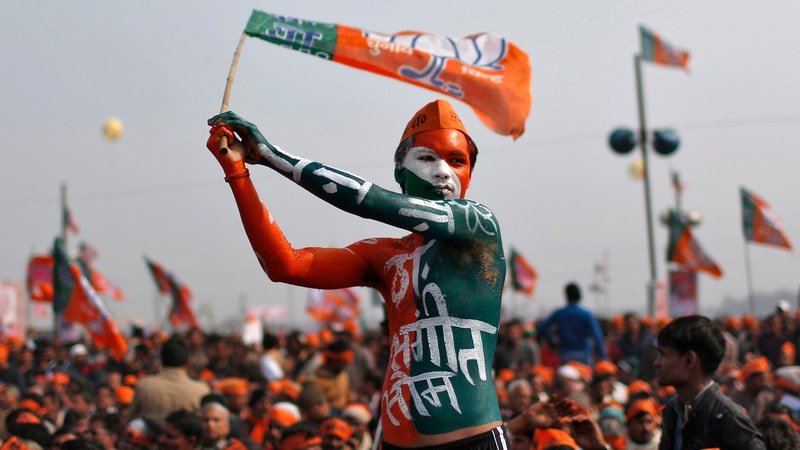 From Apps to Facebook Ads, New Measures for India's Mega Election