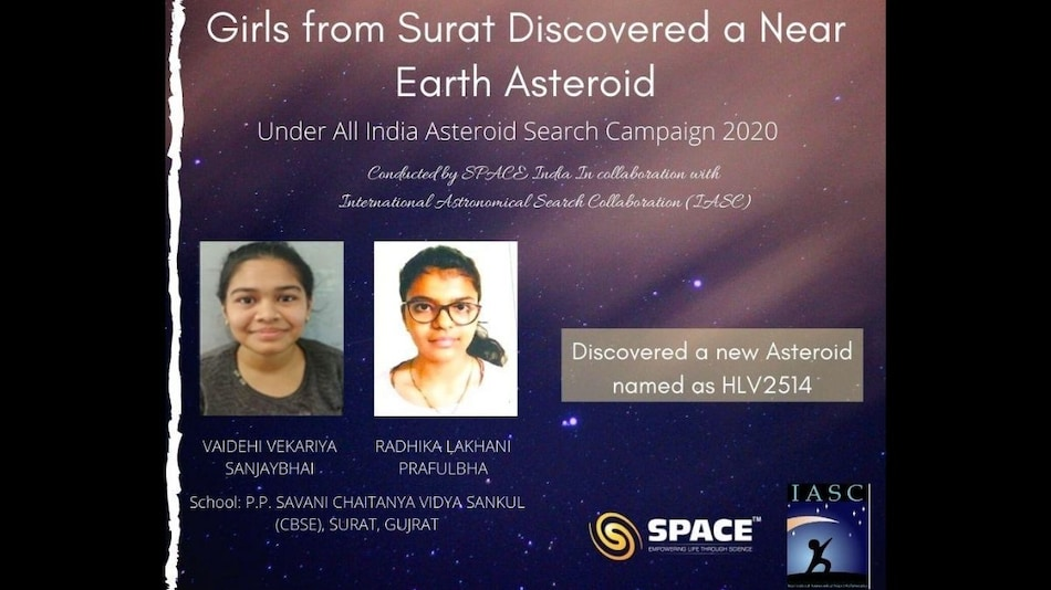 School Girls in India Discover Earth-Bound Asteroid