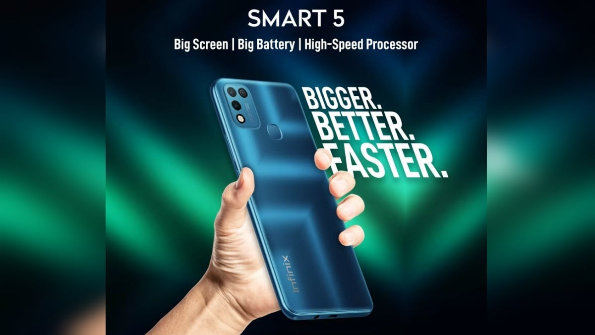 Infinix Smart 5 India Launch Date Set for February 11, to Feature Dual Rear Cameras and 6.82-Inch Display - Gadgets 360
