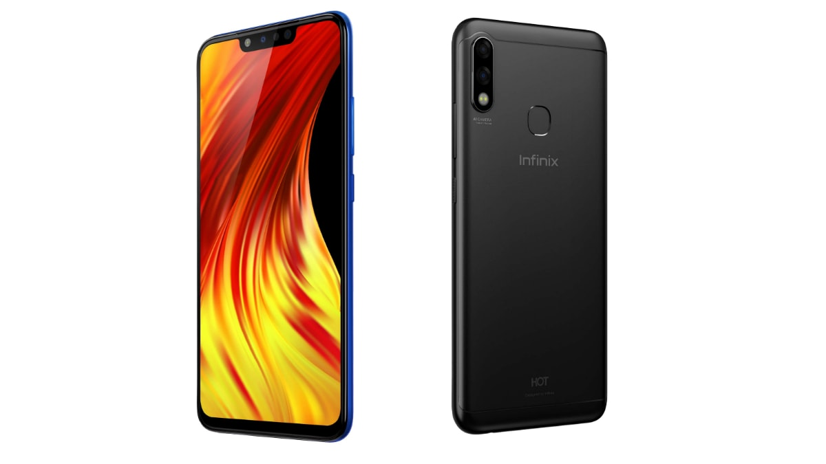 Infinix Hot 7 Pro With Four Cameras, 6GB RAM, 4,000mAh Battery