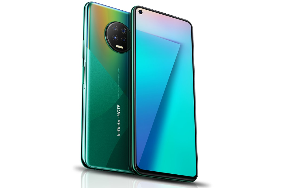 Infinix Note 7, Infinix Note 7 Lite Listed on Official Site Ahead of Launch: Specifications, Features