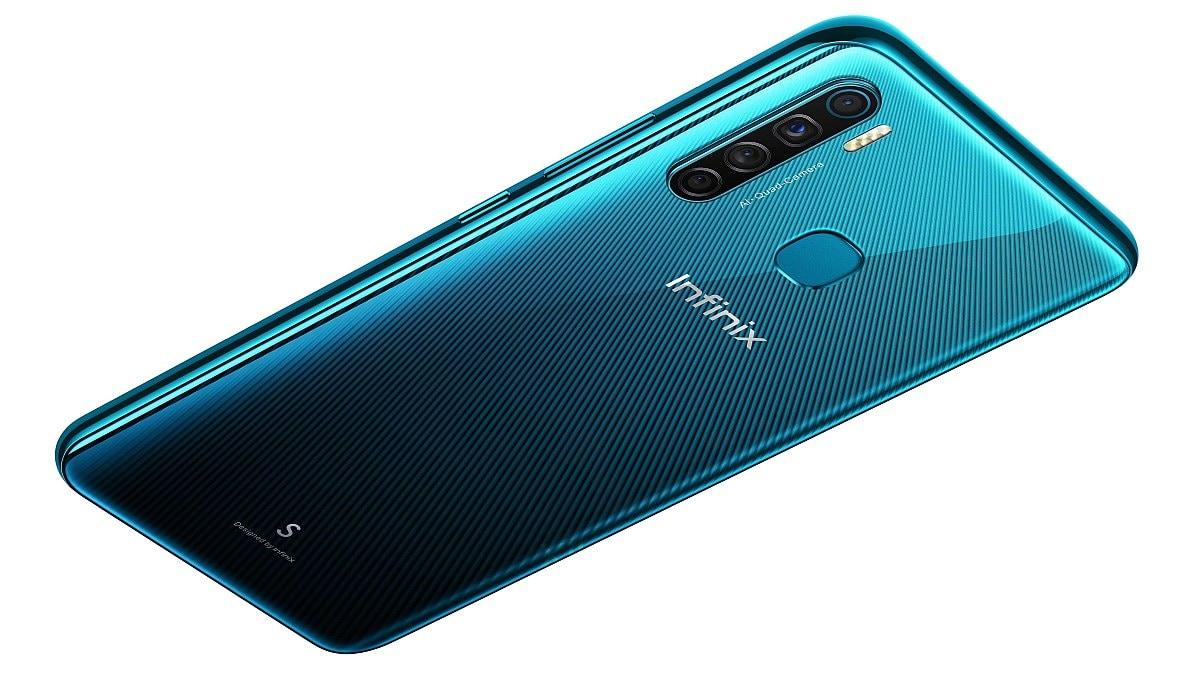 Infinix S5 में हैं चार रियर कैमरे और होल-पंच डिस्प्ले, दाम 8,999 रुपये