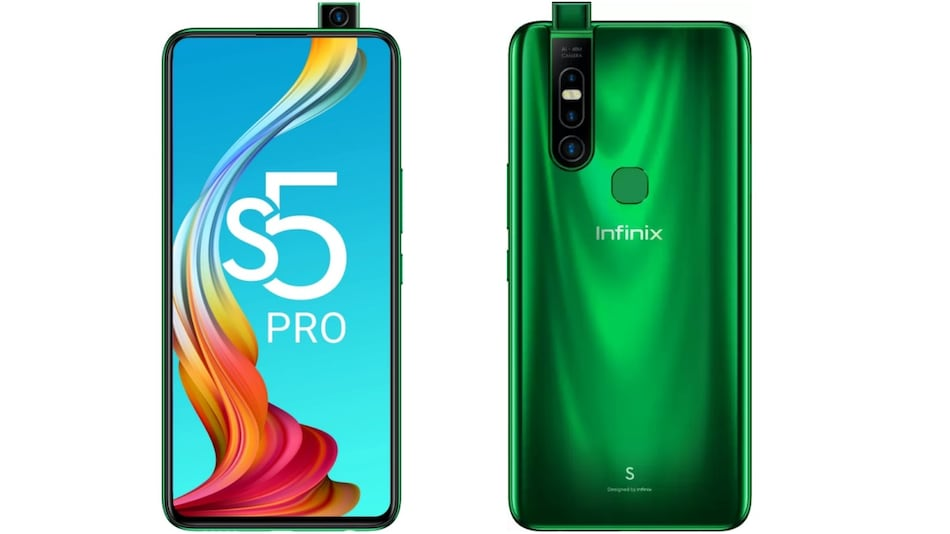 Infinix S5 Pro With Pop-Up Selfie Camera, MediaTek Helio P35 SoC Launched in India: Price, Specifications