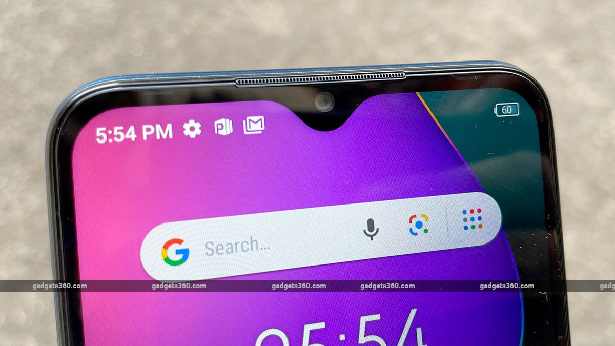 infinix smart 5 display notch gadgets360 Infinix Smart 5 First Impressions