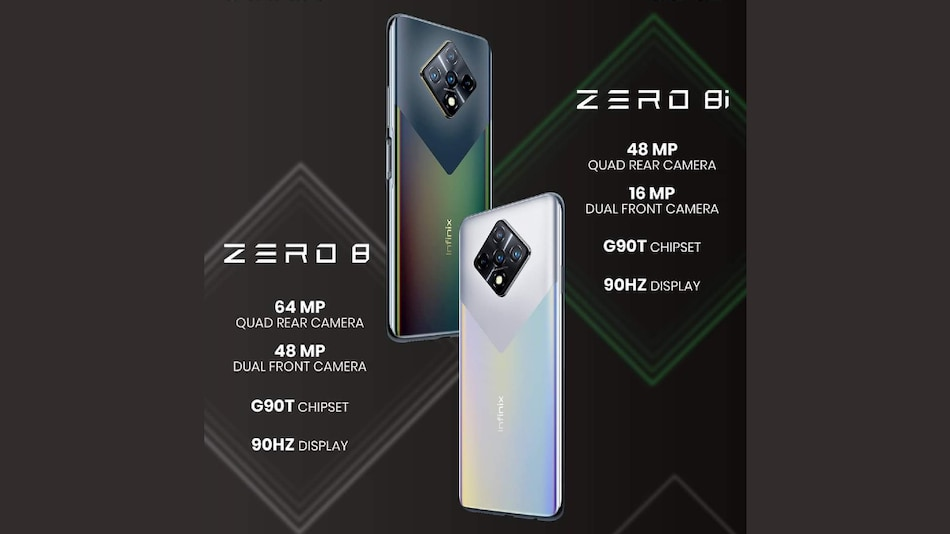 Infinix Zero 8i With 48-Megapixel Quad Rear Cameras Launched: Price, Specifications