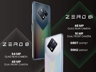 Infinix Zero 8i क्वाड रियर कैमरा सेटअप के साथ लॉन्च, दो सेल्फी कैमरे भी हैं इसमें