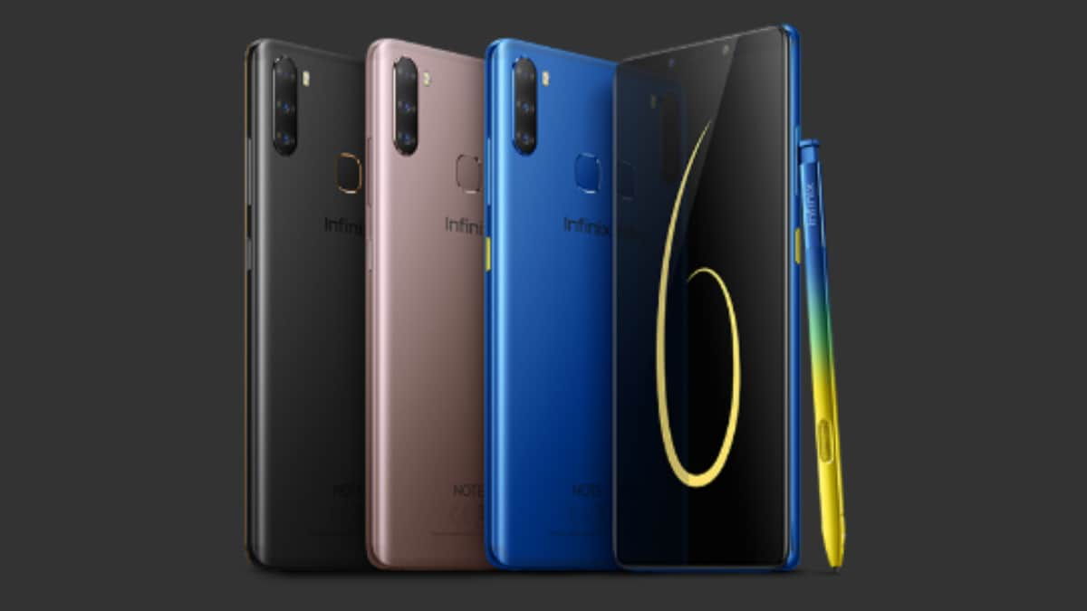 Infinix Note 6 With Triple Rear Cameras, X Pen Stylus, 4,000