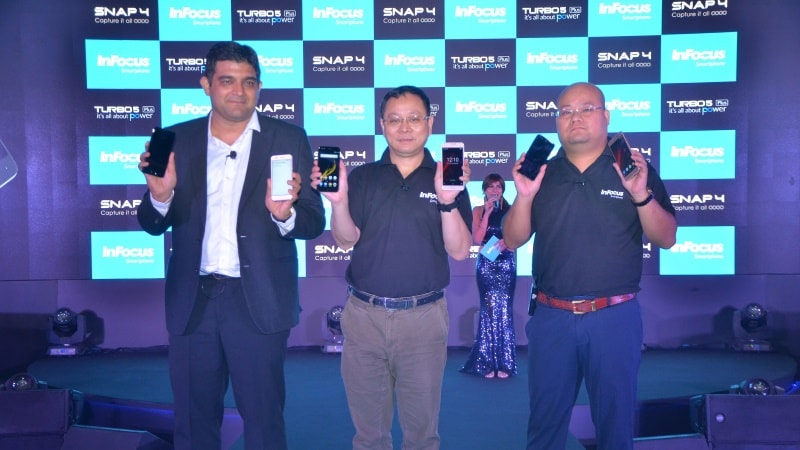 InFocus Snap 4, Turbo 5 Plus Photography-Focused Smartphones Launched: Price, Specifications