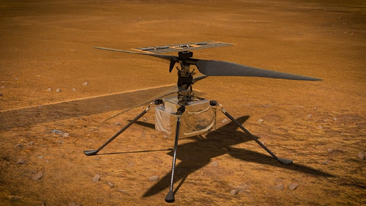 NASA Wants to Fly Ingenuity Helicopter on Mars for the First Time - Gadgets 360