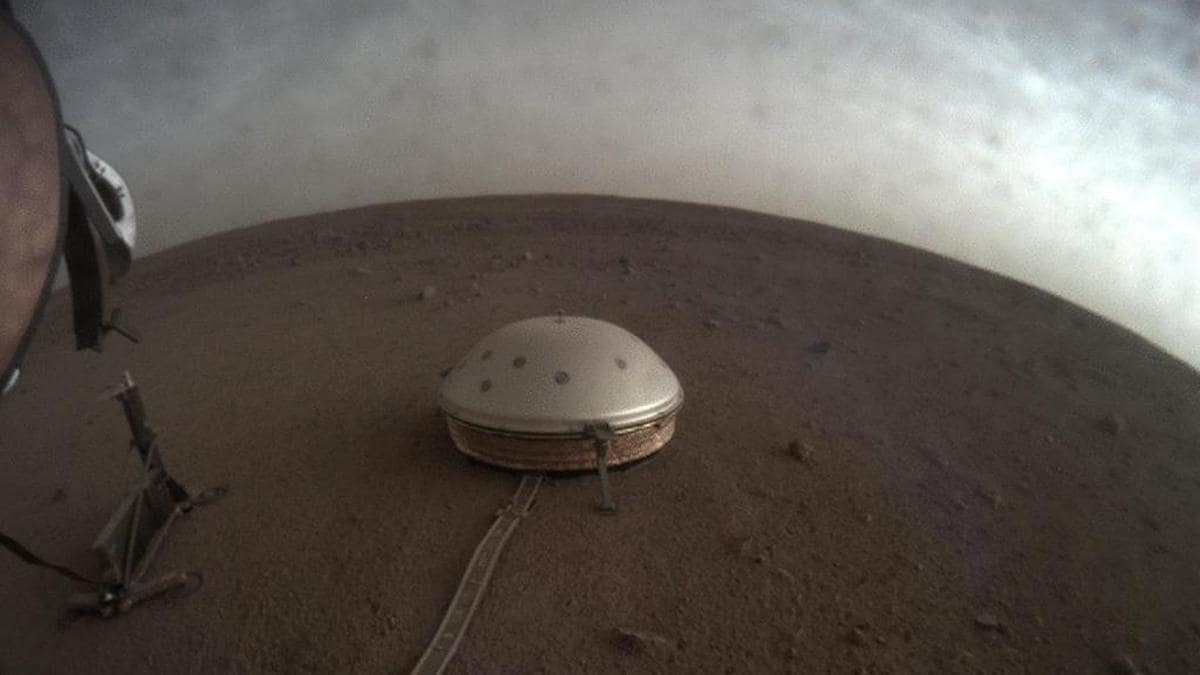 NASA's InSight lander 'hears' unusual sounds on Mars