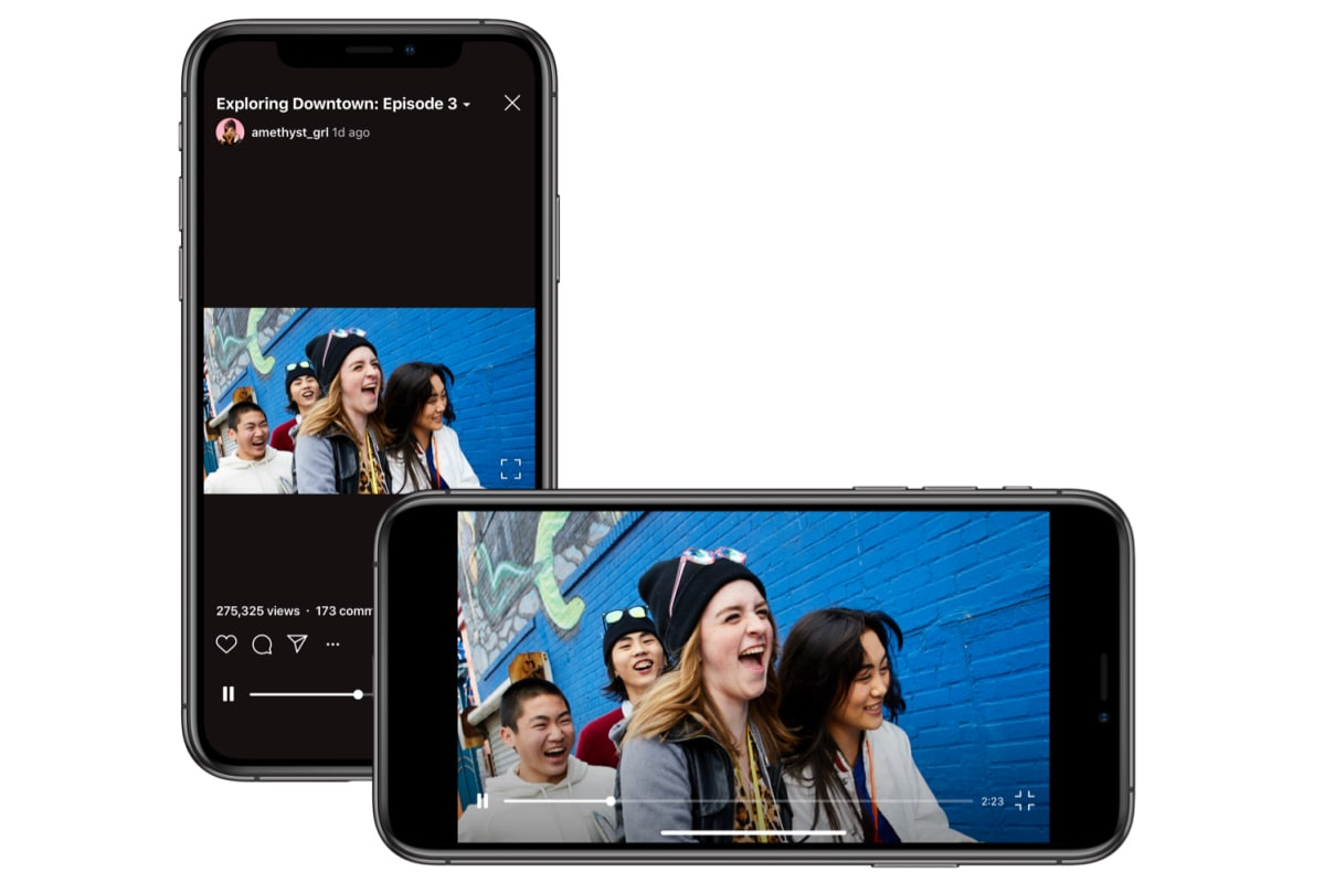 IGTV Now Supports Landscape Format on Alongside Vertical Videos
