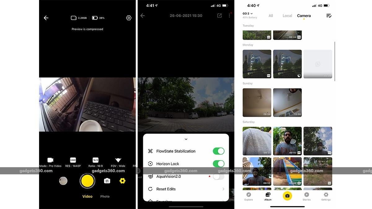 insta360 go2 review app ff