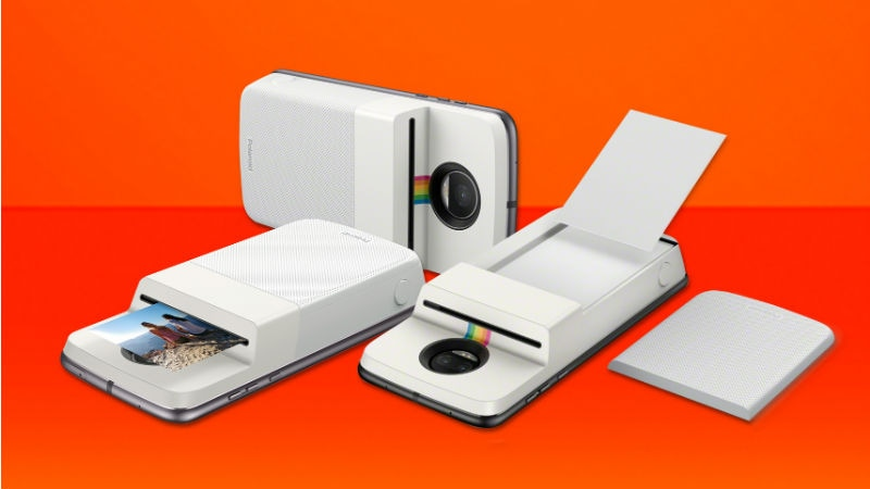 Moto Z Series Gets Polaroid's Insta-Share Printer Mod