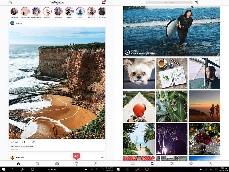Instagram Finally Arrives on Windows 10 Desktops, Tablets