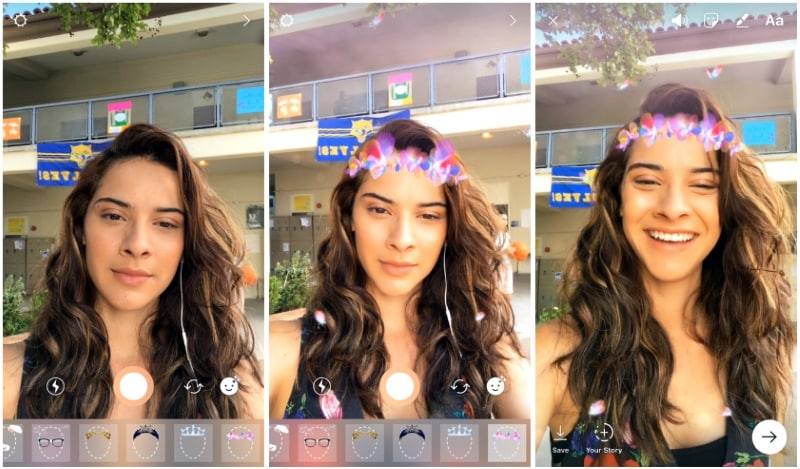 Instagram Gets Snapchat-Style Face Filters for Posts and Direct Messages