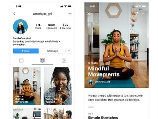 Instagram Introduces New 'Guides' Tab, Currently Limited to Wellness Influencers