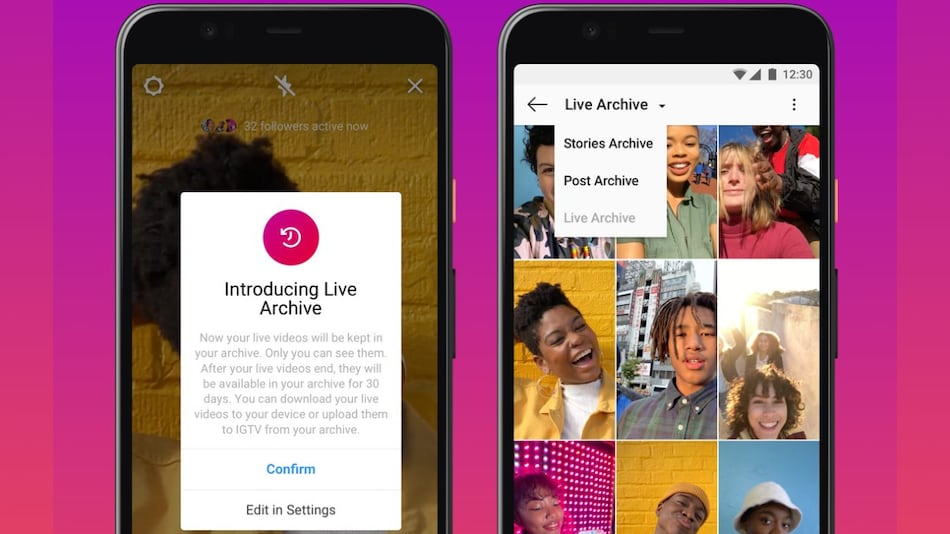 Instagram Live Video Time Limit Extended to 4 Hours, New Archive Option Created for Livestreams