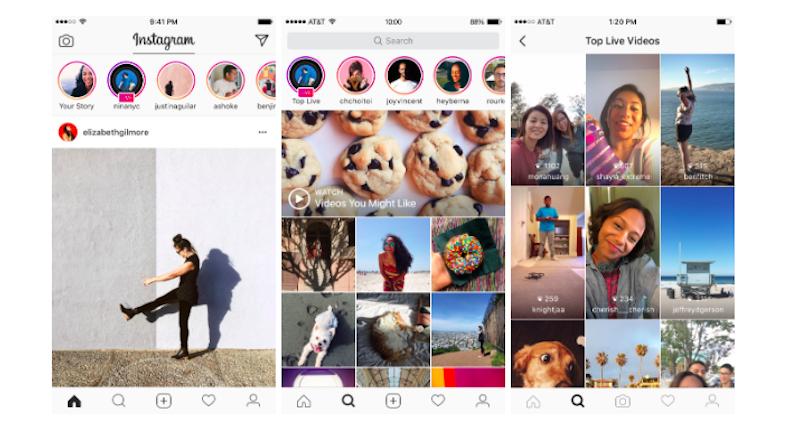 instagram live videos screenshots Instagram Live Videos