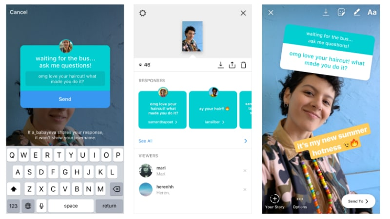 Instagram Stories Gets New Questions Sticker, Lets Followers Ask Questions