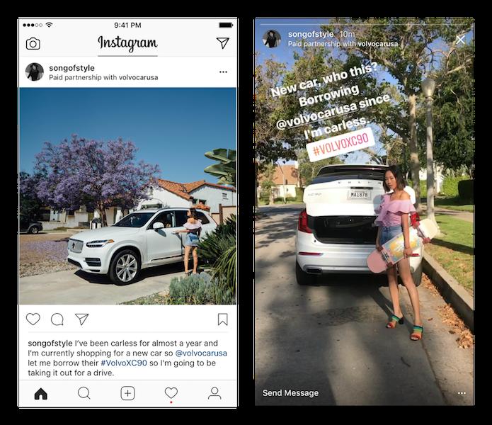 instagram paid partnership instagram