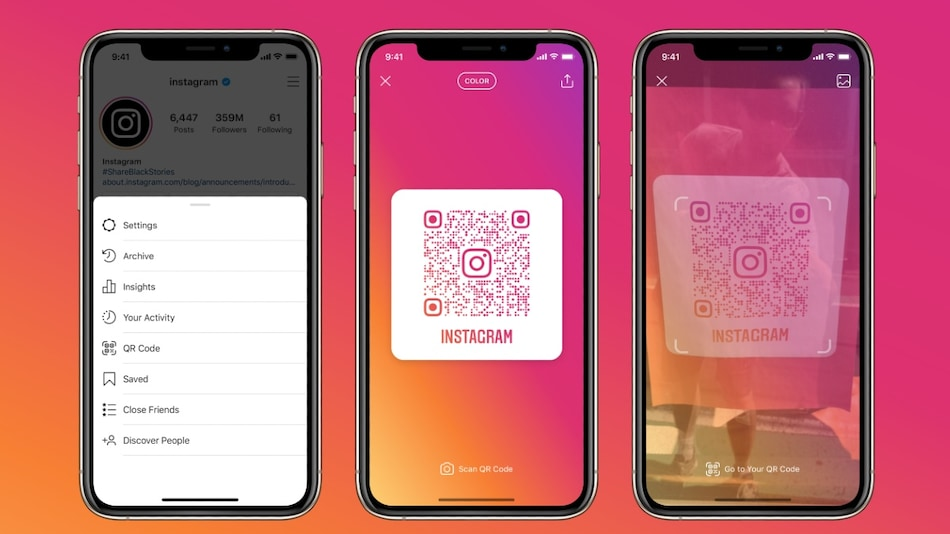 Instagram Rolls Out QR Codes, Allows Users to Open Profiles From Any Camera App: Report