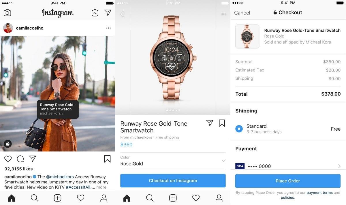 instagram shopping Shopping