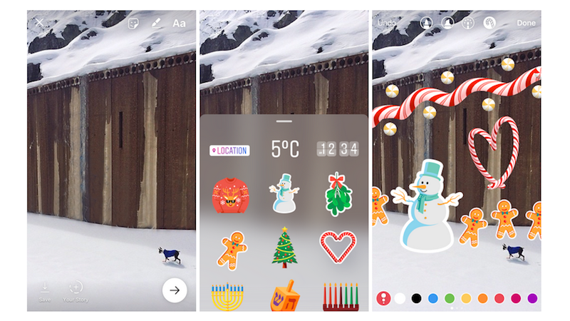 Instagram gets stickers for stories hands free video recording
