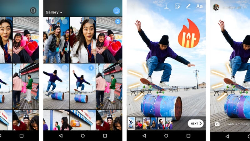 Instagram Now Lets You Upload Multiple Photos, Videos to Stories Simultaneously; Data Download Tool Launched