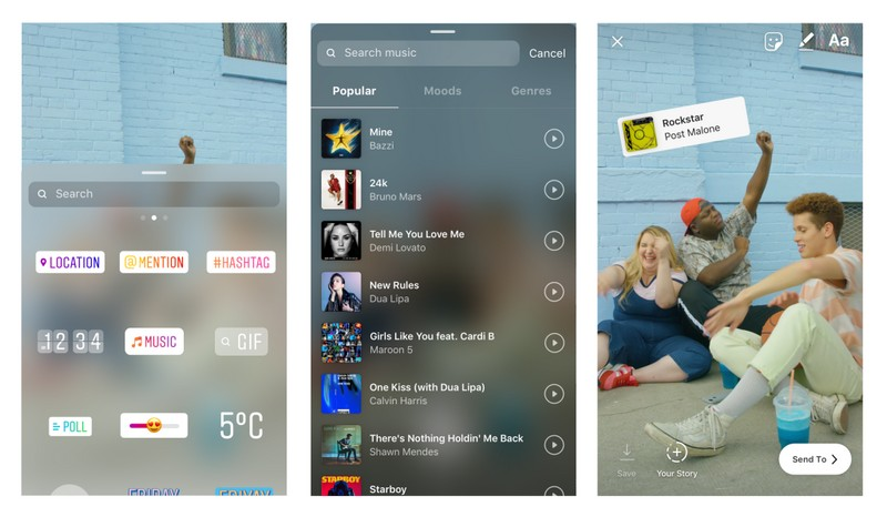 Instagram Stories Get Soundtracks, Users Can Choose From Thousands of Licensed Songs