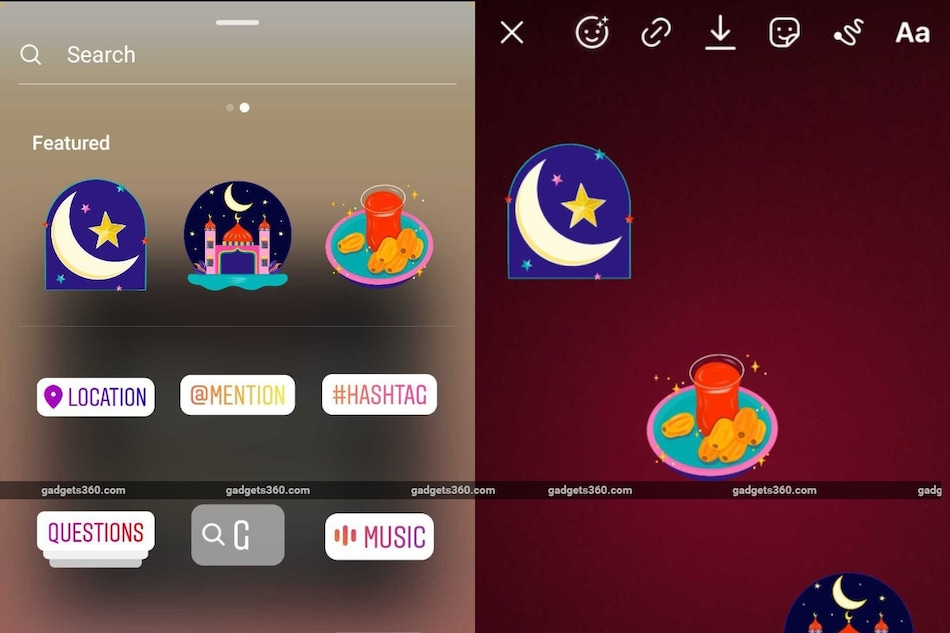Instagram Ramadan Stickers for Stories Launched, Created By Bahrain Illustrator Hala AlAbbasi