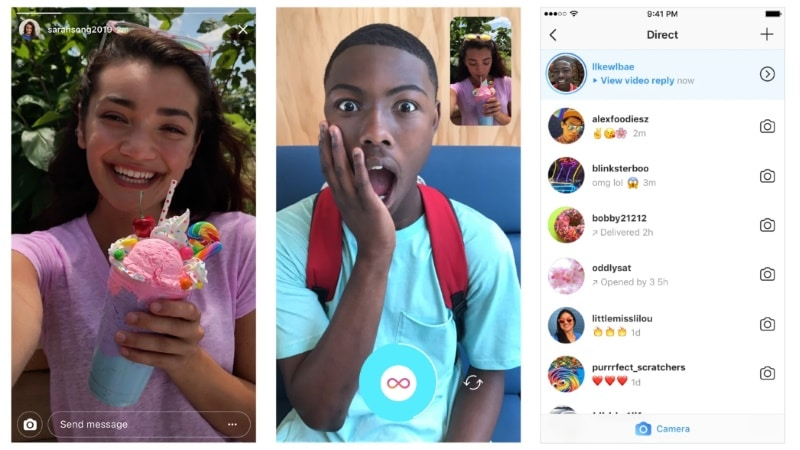 Instagram Stories updated with photo and video replies