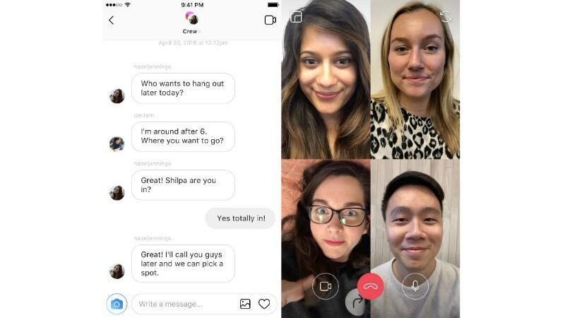 instagram video chat Instagram video chat