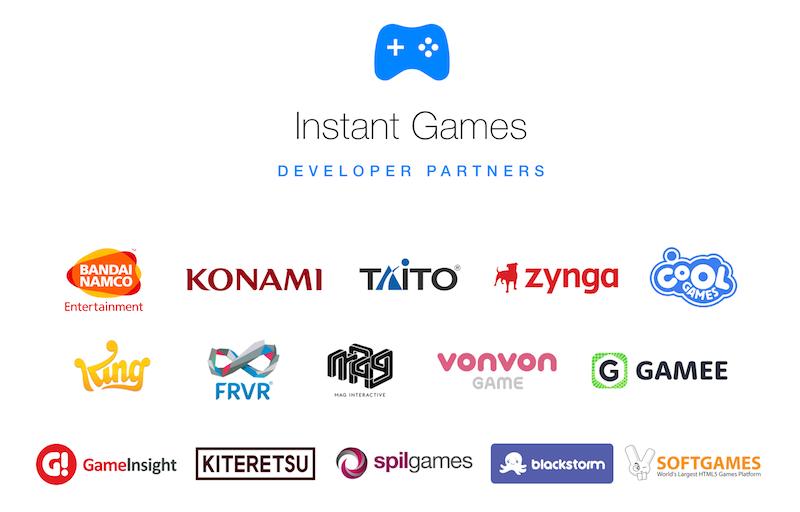 instant games developer partners Instant Games Developers