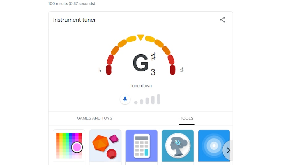 Google Search Gets New Feature to Help You Tune Your Guitar