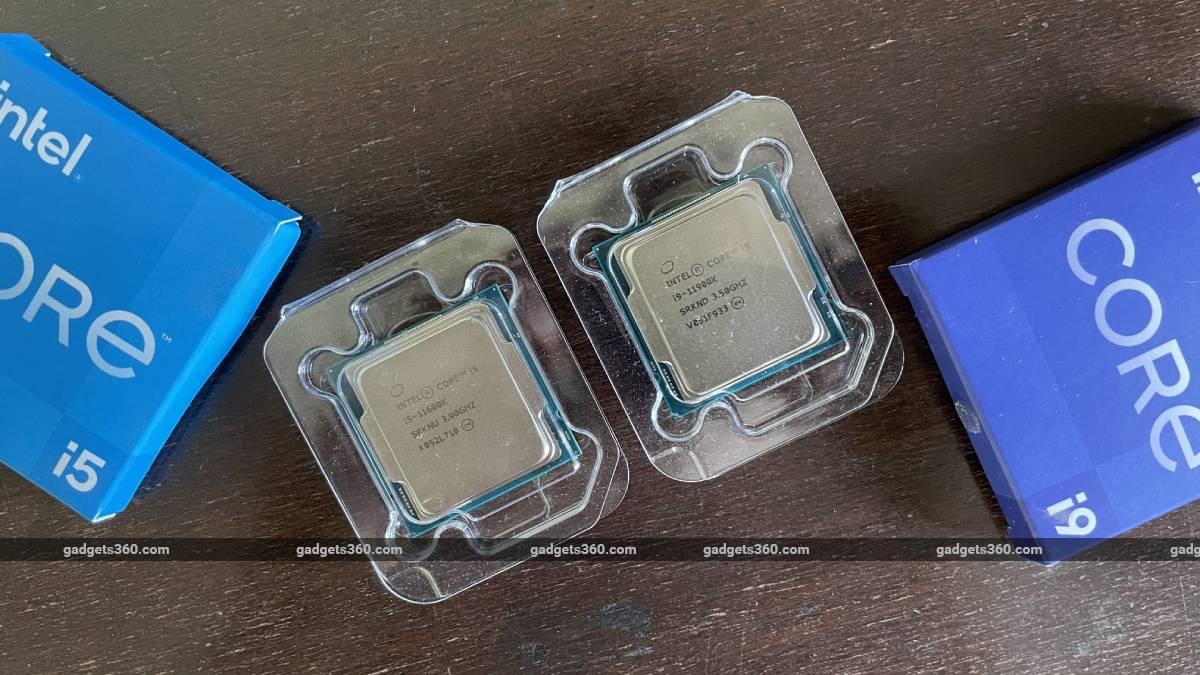 intel core i9 11900k i5 11600K top ndtv intel