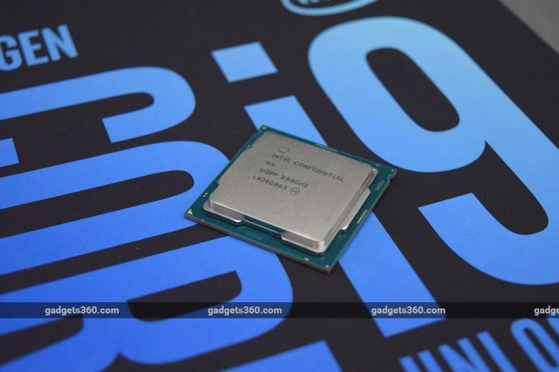 intel core i9 9900k logo ndtv intel