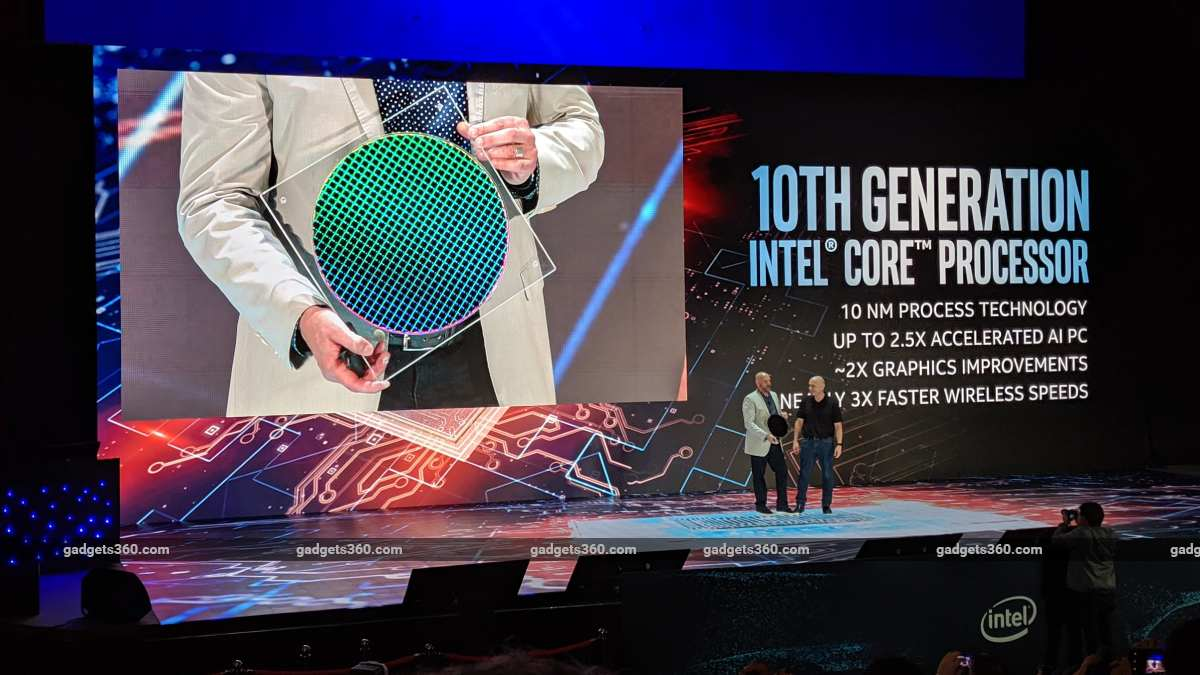 intel icelake keynote computex2019 ndtv computex